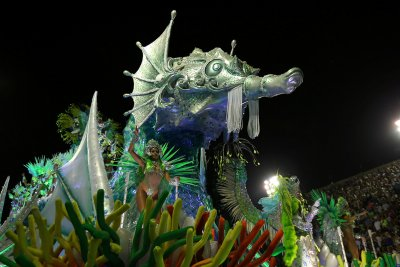 Rio de Janeiro Carnival 2017 Mocidade