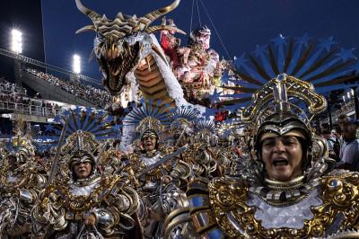 Rio de Janeiro Carnival 2017 Mangueira