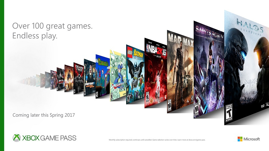Xbox Game Pass: Microsoft to Launch Netflix-Style $10 Monthly Service
