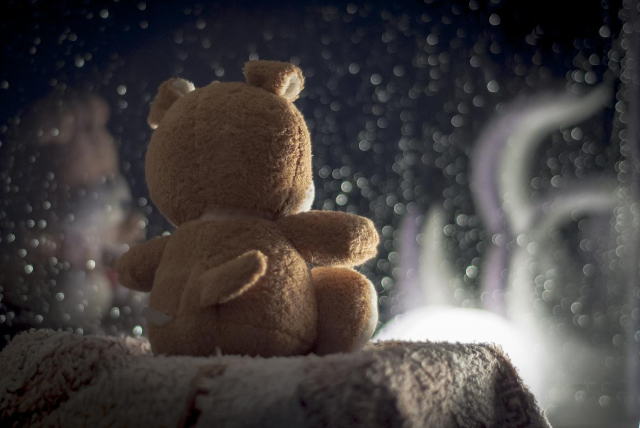 Teddy Bear hacked