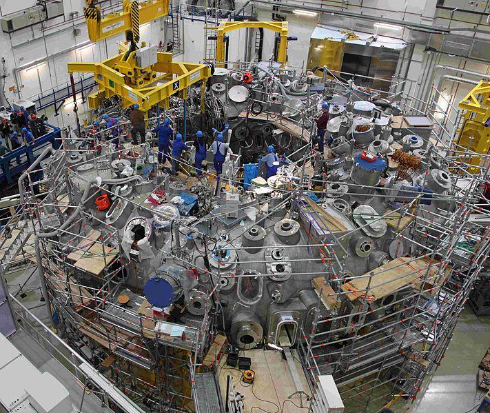 Wendelstein 7-X stellarator