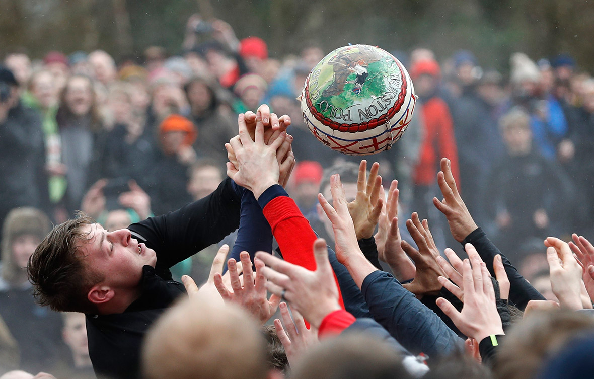 Shrovetide football match