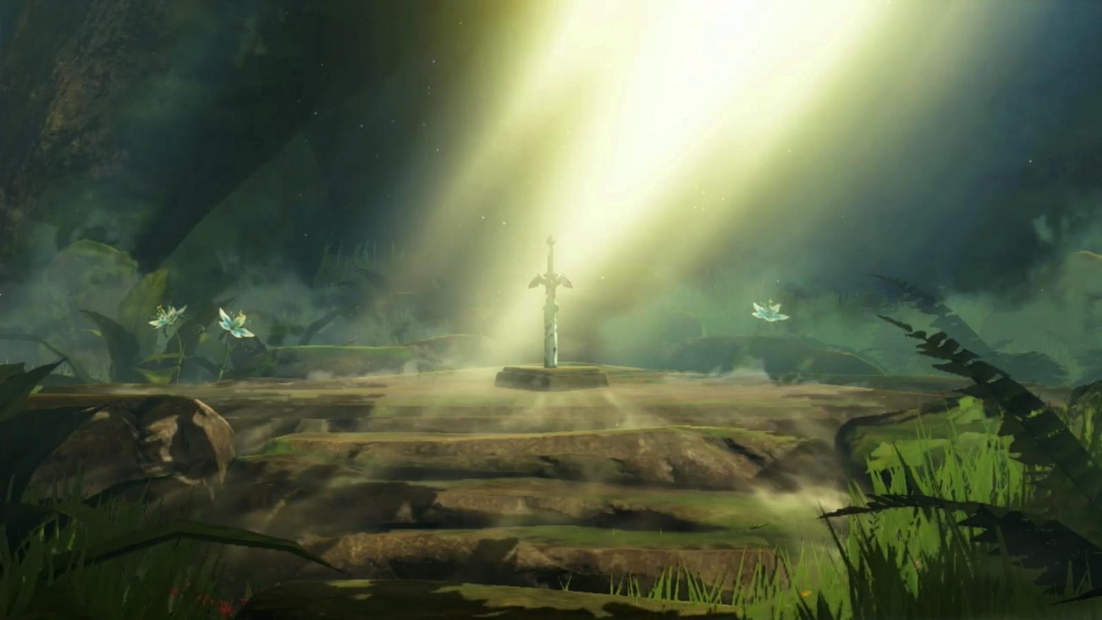 Legend of Zelda Switch Master Sword