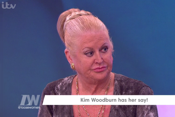 Kim Woodburn ITV Loose Women
