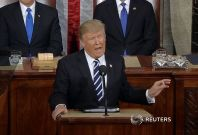 President Trump Promises To Strengthen Border Control And Demolish ISIS In Address To Congress
