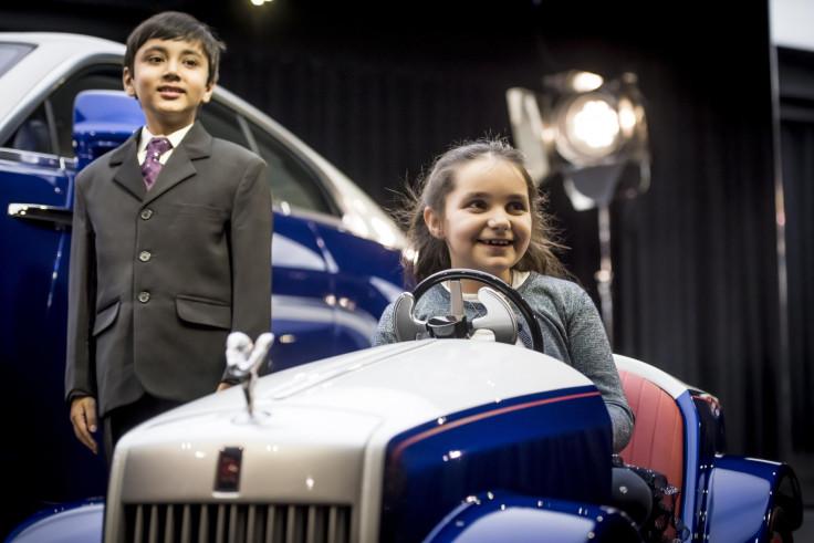 Rolls-Royce SRH electric car
