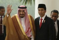 Saudi King Indonesia visit