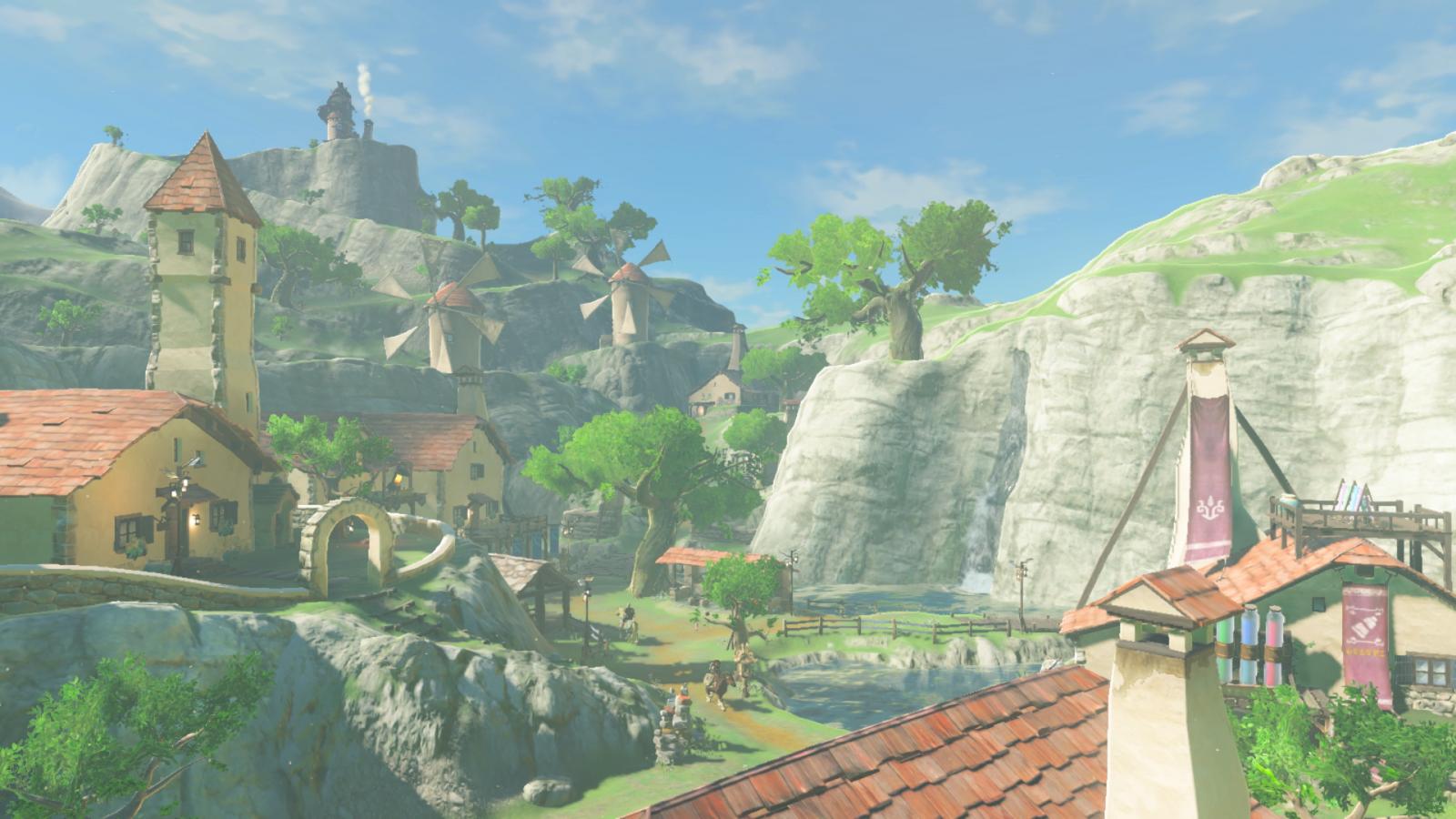 The Legend of Zelda Breath Wild