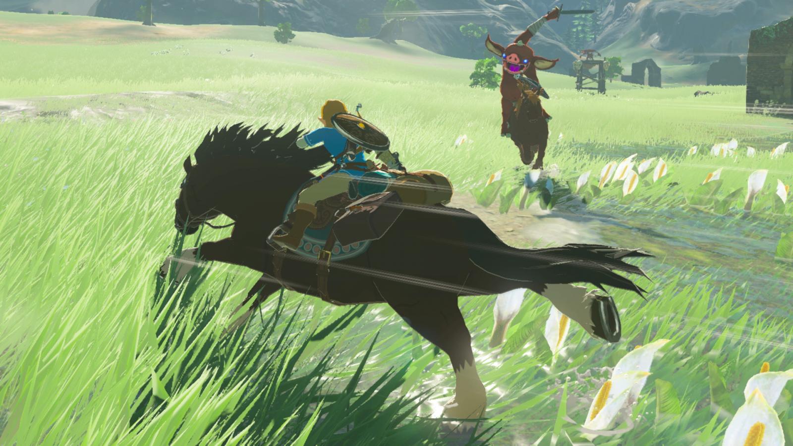 Legend of Zelda Breath Wild