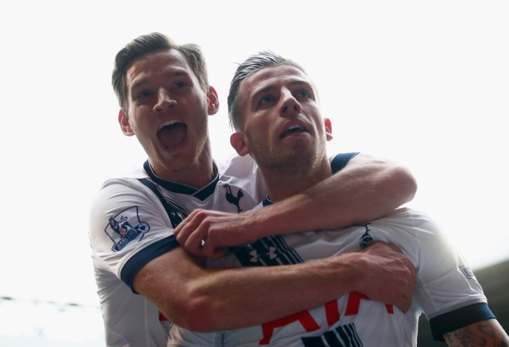 Jan Vertonghen and Toby Alderweireld