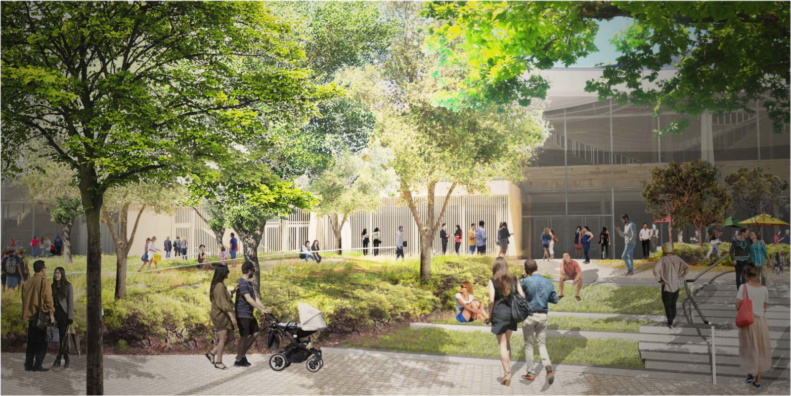 Google reveals images of its futuristic campus offices to rival