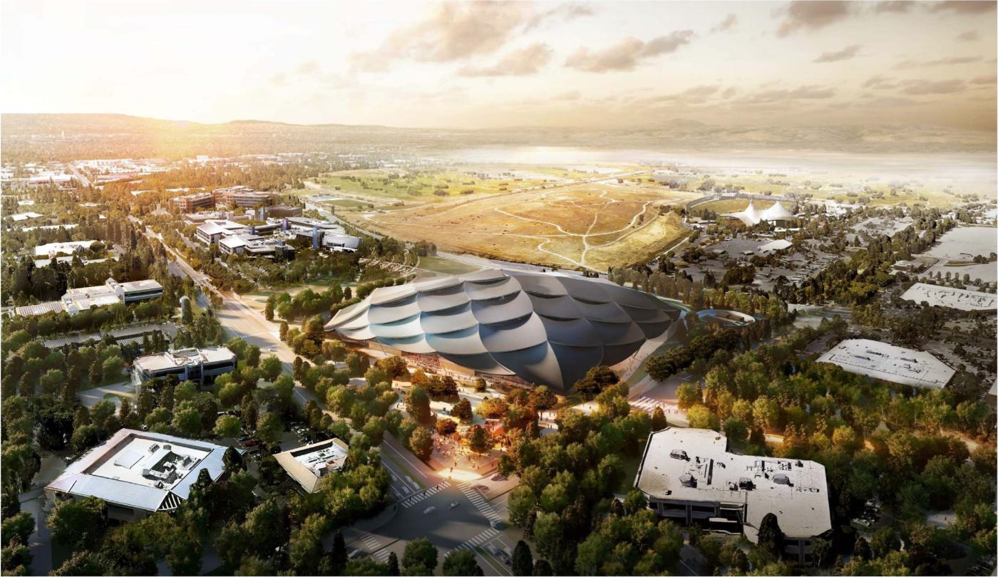 Google campus futuristic office design