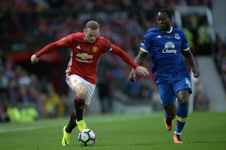 Wayne Rooney and Romelu Lukaku
