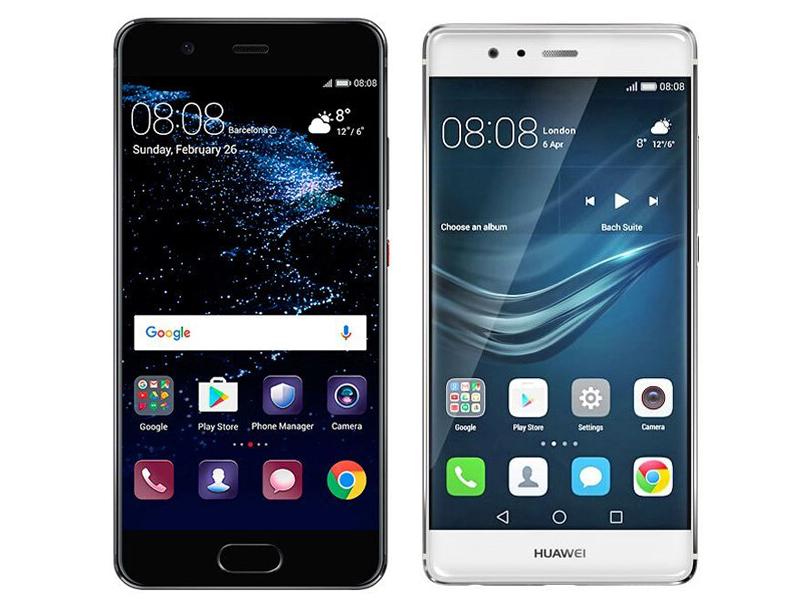 Huawei P10 vs P9 specs comparson