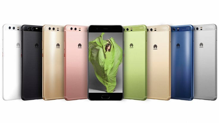 Huawei P10 colour options