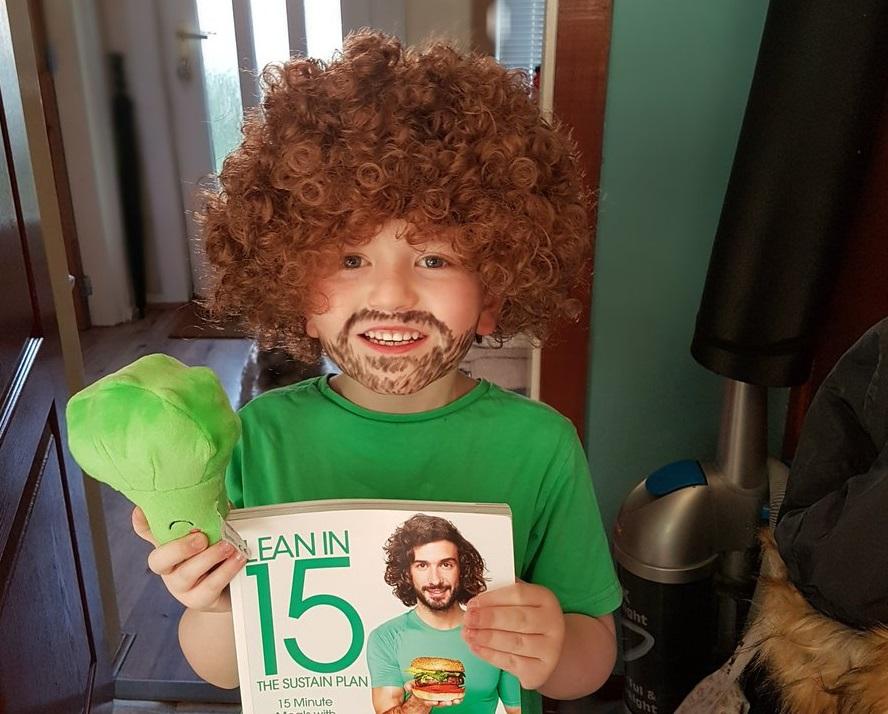 Children dress up for World Book Day
