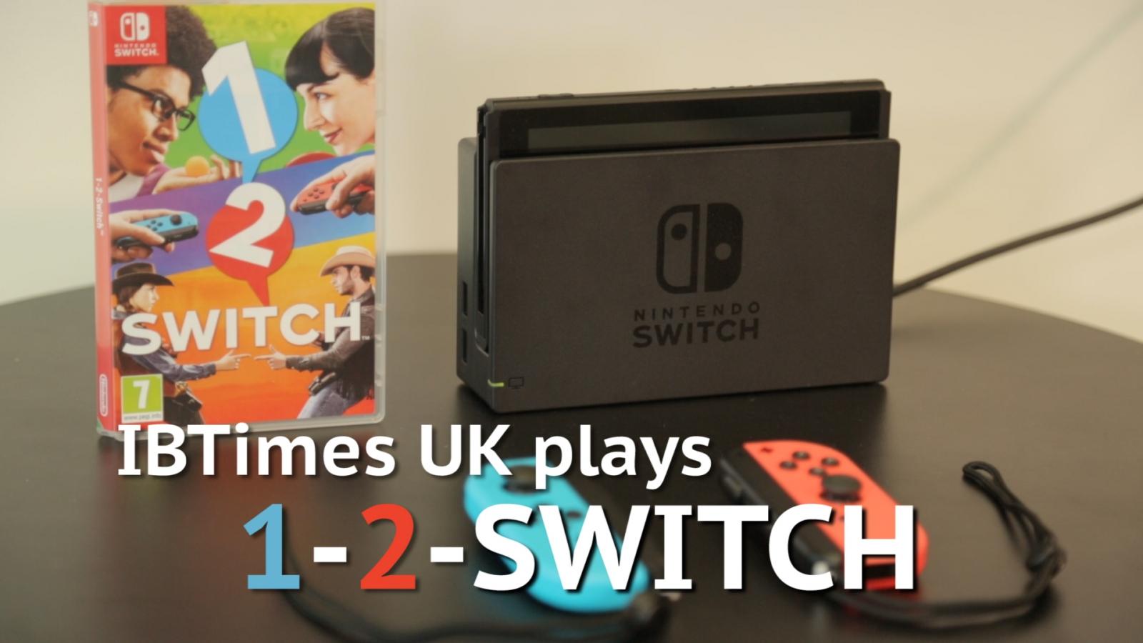 IBTimes UK tries 1-2-Switch on Nintendo Switch
