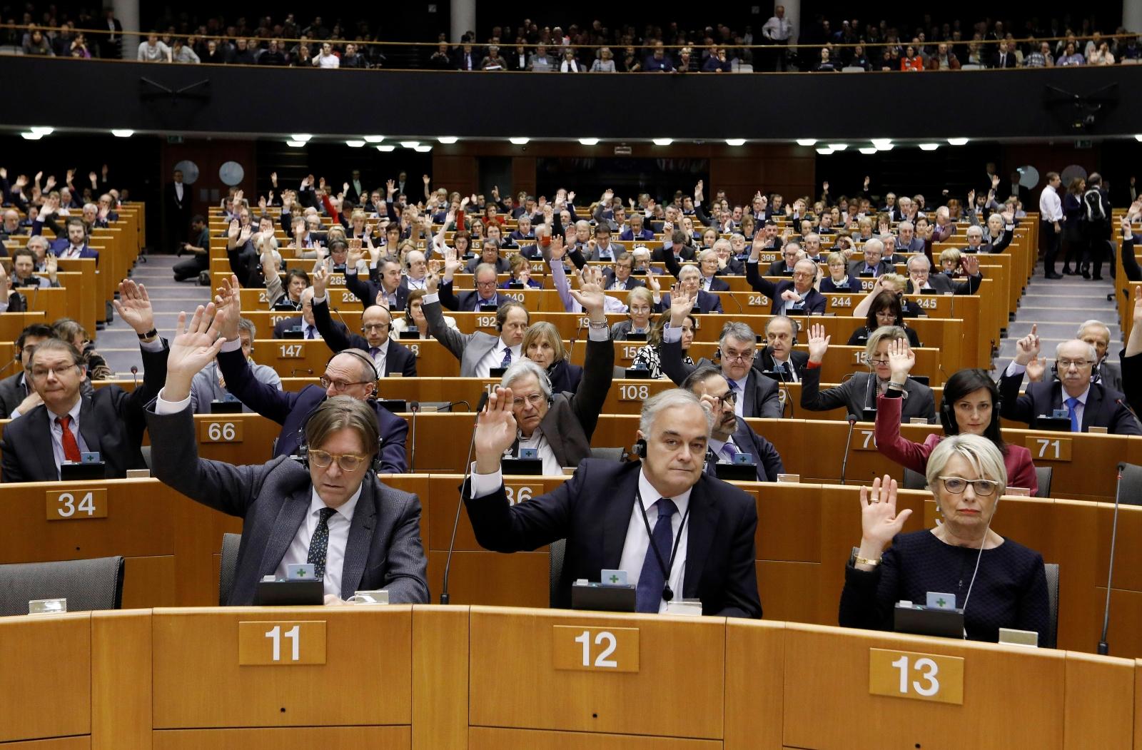 EU Parliament lifts Le Pen immunity over IS tweets