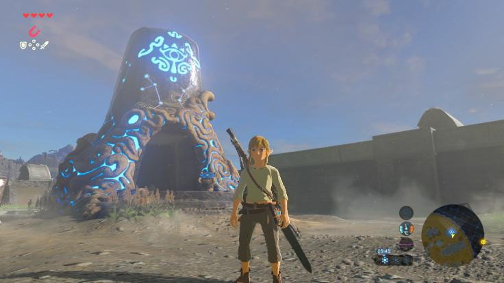 Zelda Great Plateau Shrine