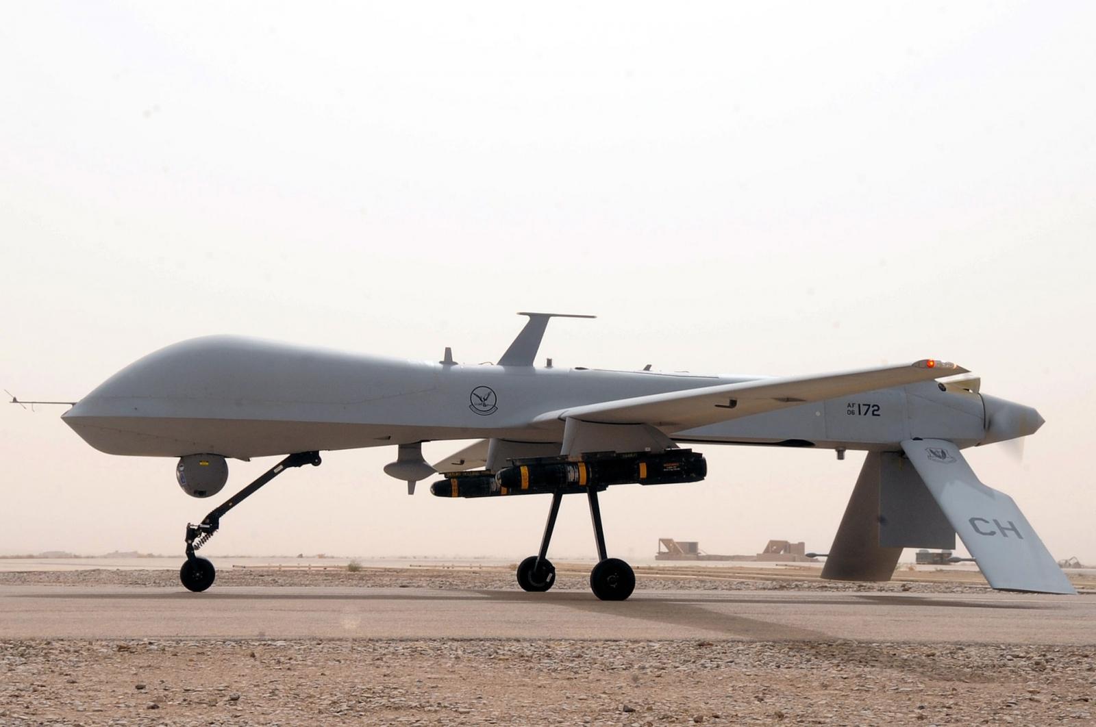 MQ-1 US Air Force military drone