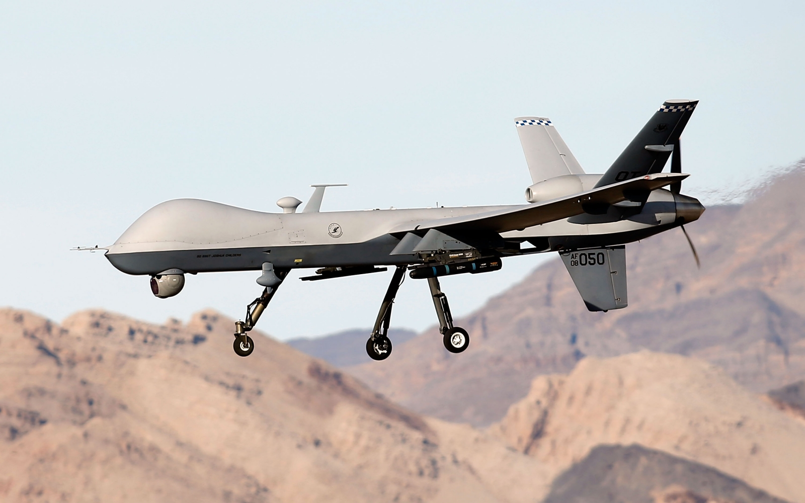 RAF Reaper Drone Strike Saves Isis Prisoners From Public Execution