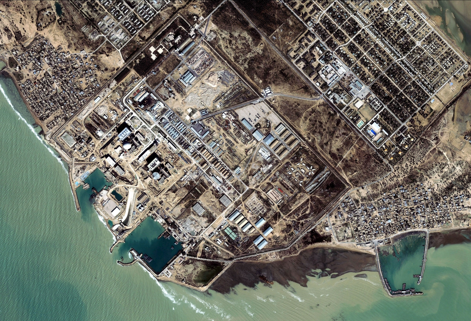 Satellite Image Shows Iranian Nuclear Facility