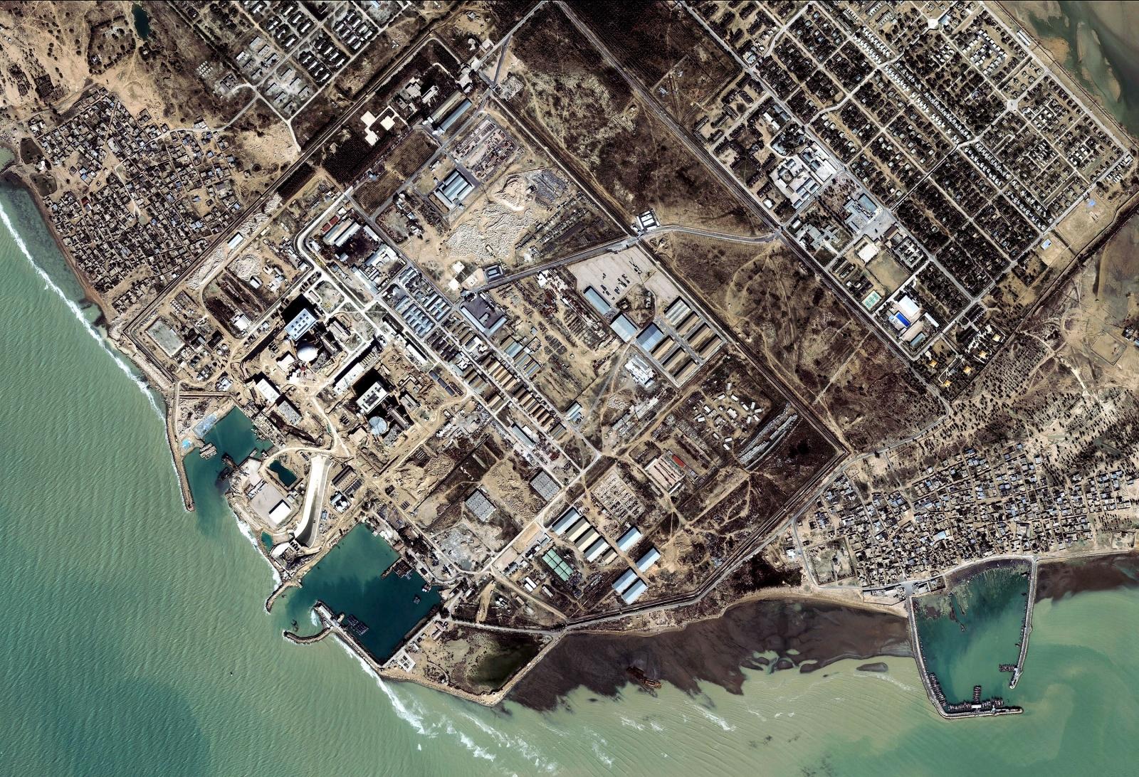 Satellite Image Shows Iranian Nuclear Facility