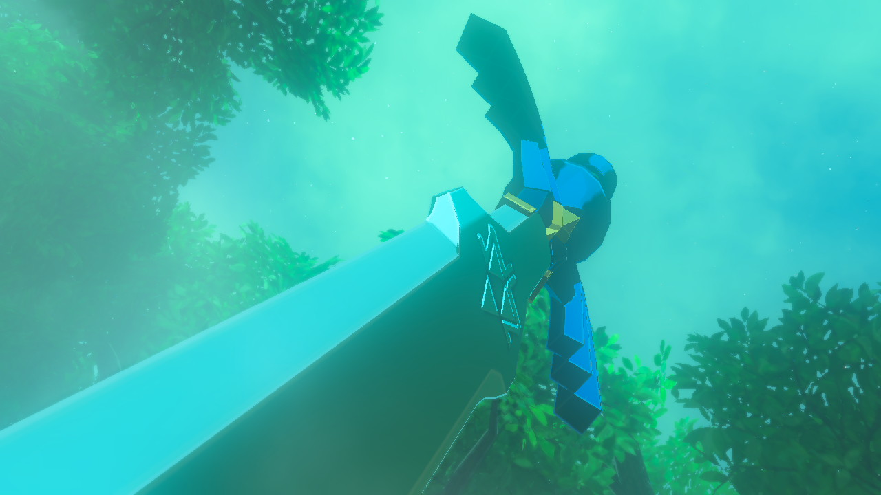 Where To Find The Master Sword In Legend Of Zelda Breath Of The Wild