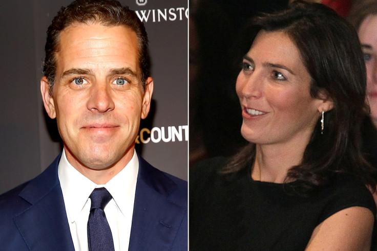 Joe Biden S Son Hunter And Widowed Daughter In Law Hallie Confirm Romantic Relationship