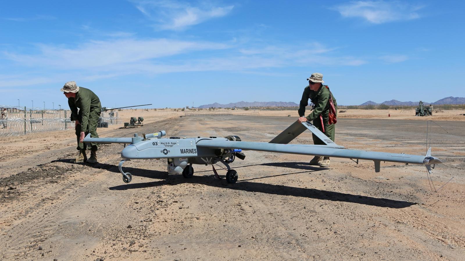 Shadow RQ-7Bv2 military drone