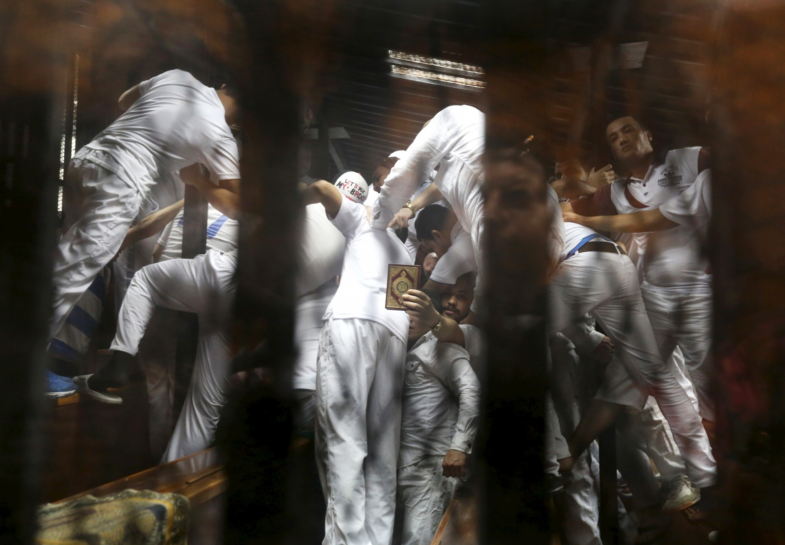 Defendants in Egypt