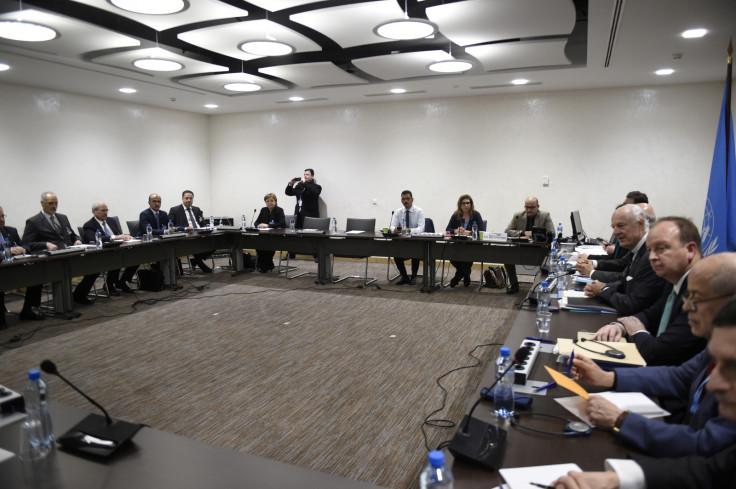 Syria peace talks Geneva