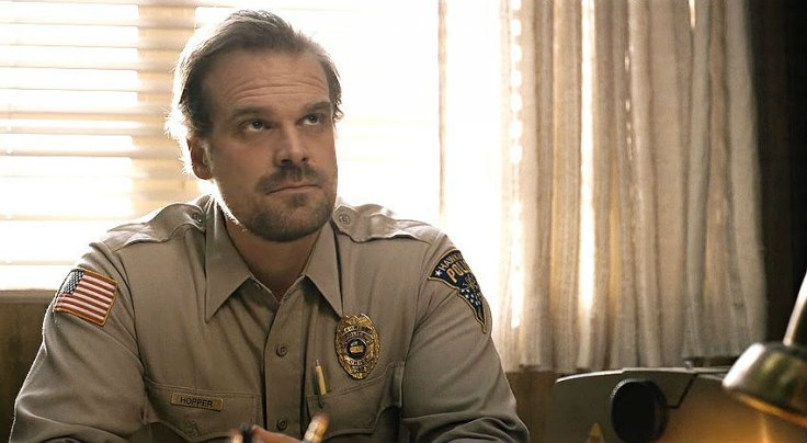 David Harbour debuts new look amid possible return to 'Stranger Things' Season 4