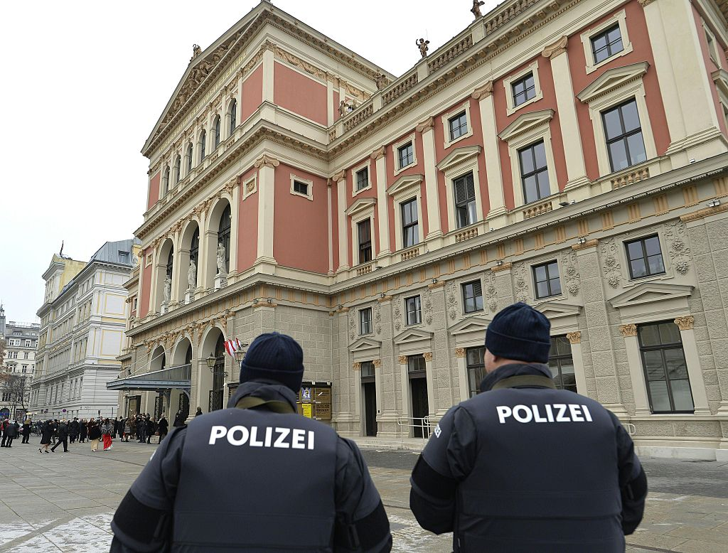Police in Vienna