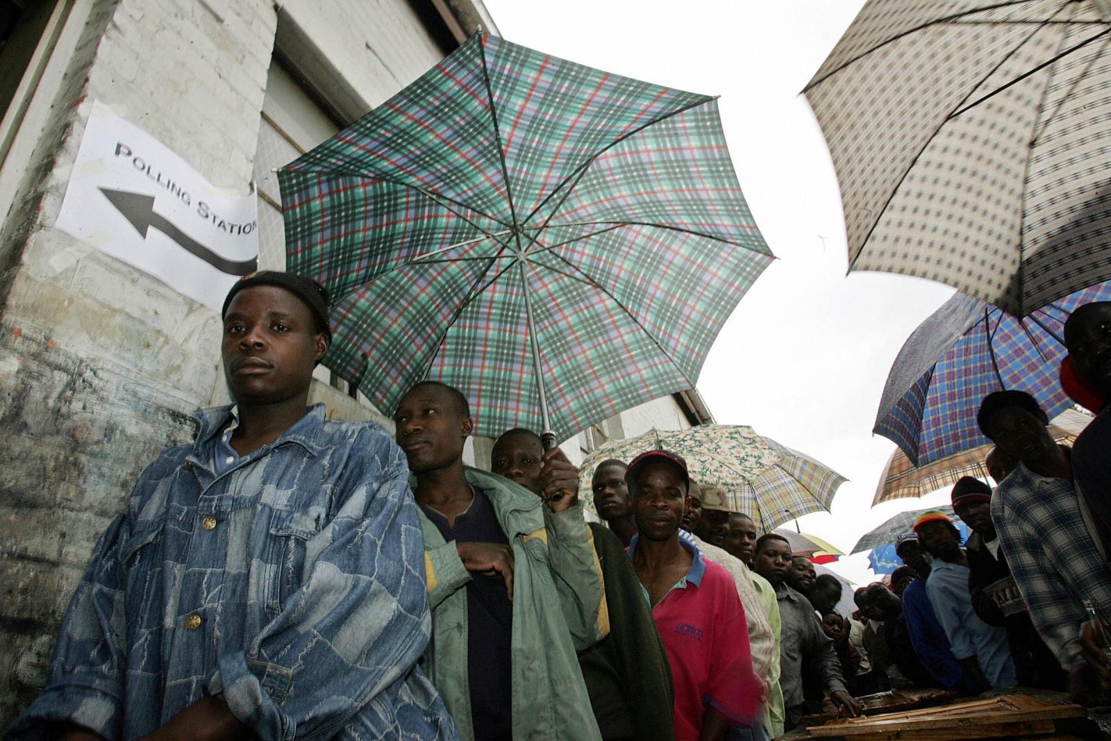 Zimbabwe rain