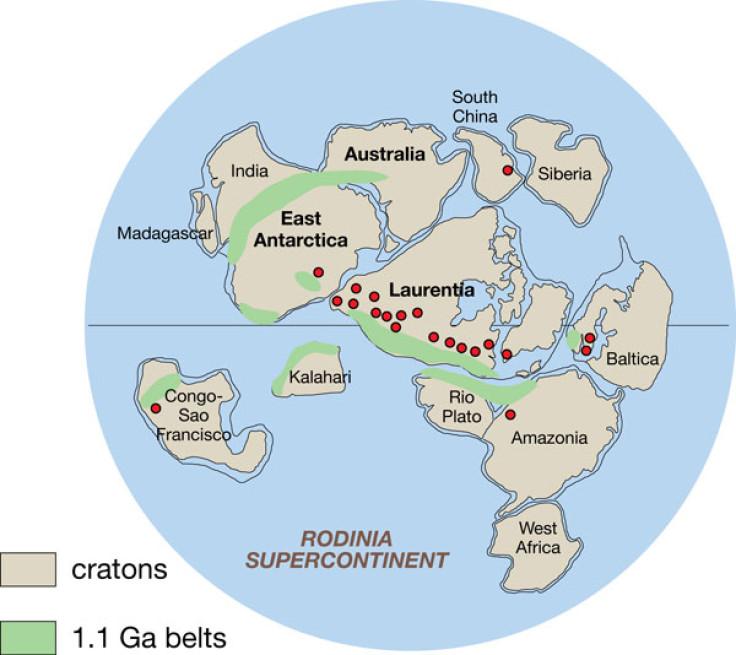 Rodinia supercontinents