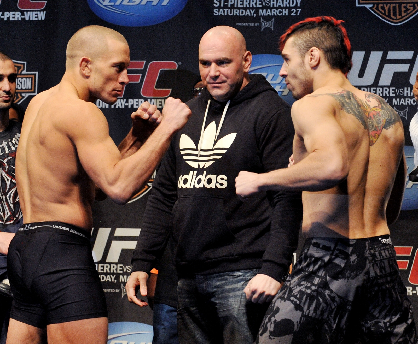 St-Pierre vs Hardy
