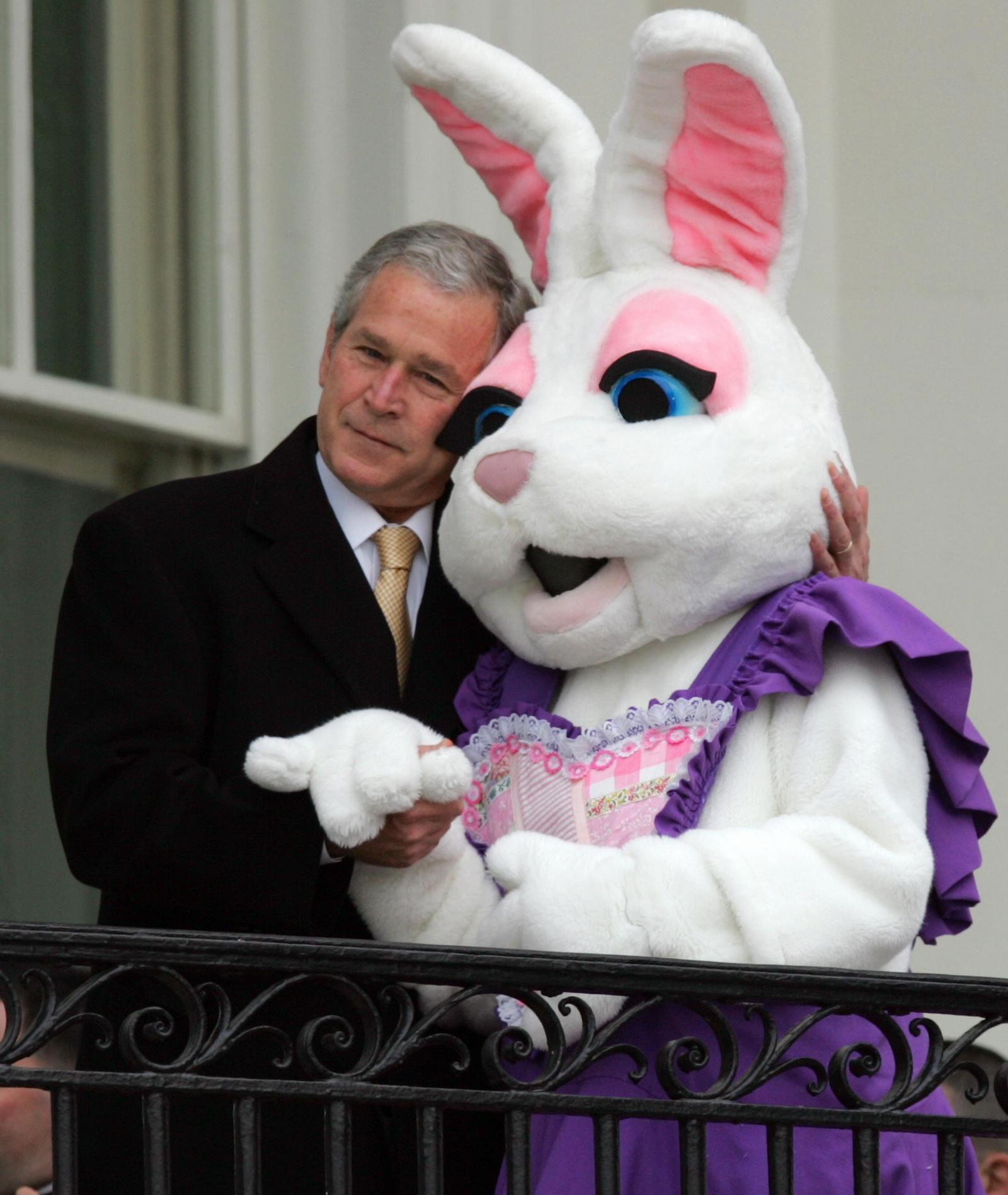 Spicer Bush Easter Bunny