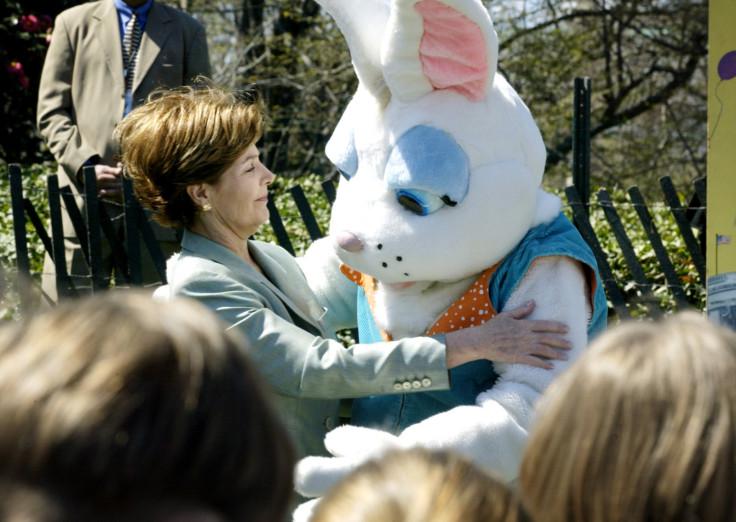 Sean Spicer Bunny Bush