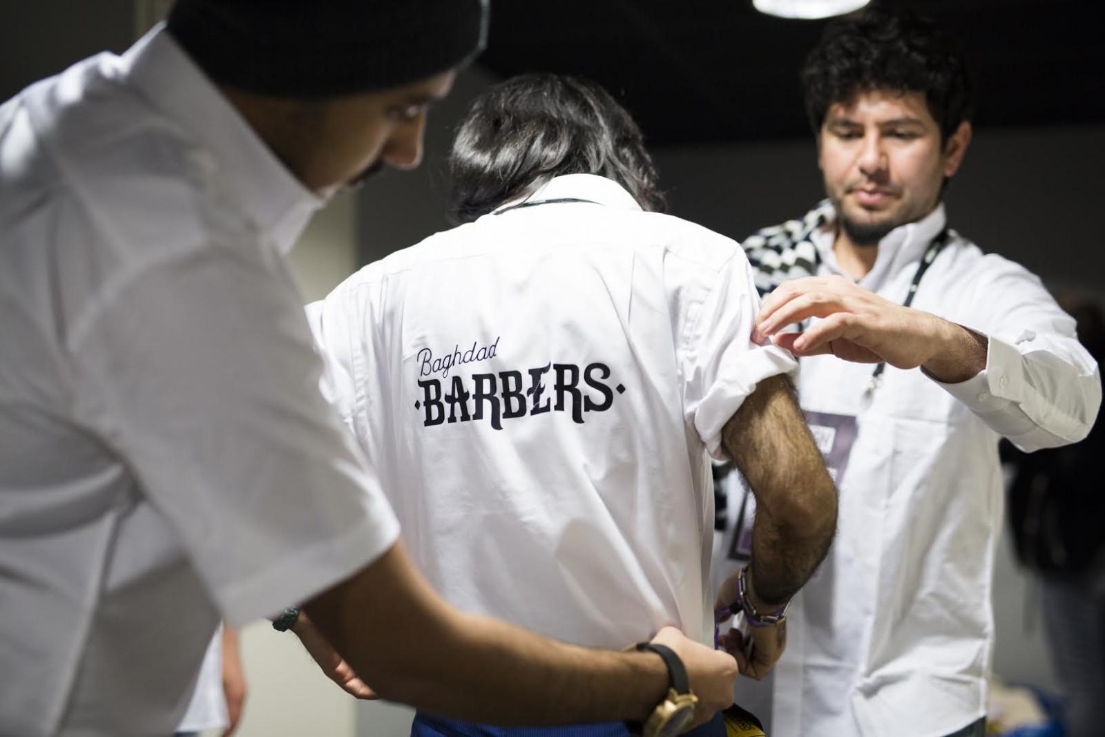 Baghdad barbers