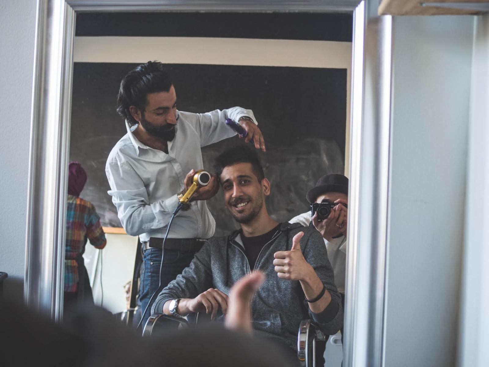 Baghdad barbers 3