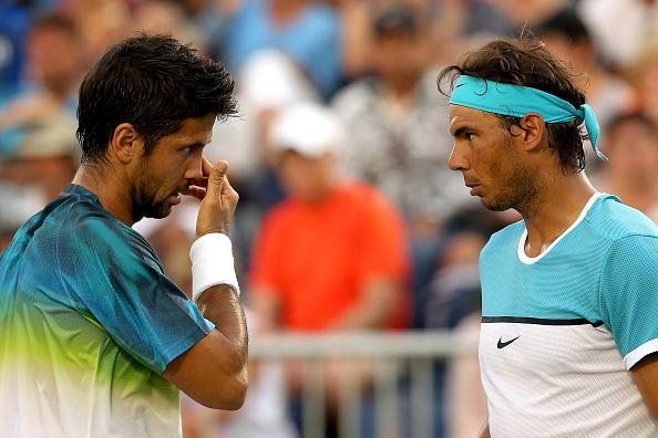 Rafael Nadal and Fernando Verdasco