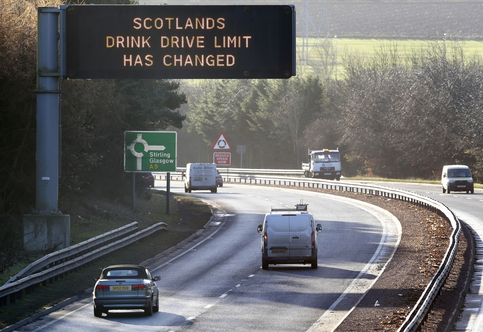 Scotland drink-drive limit
