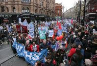 NHS march