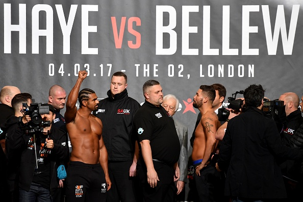 David Haye V Tony Bellew