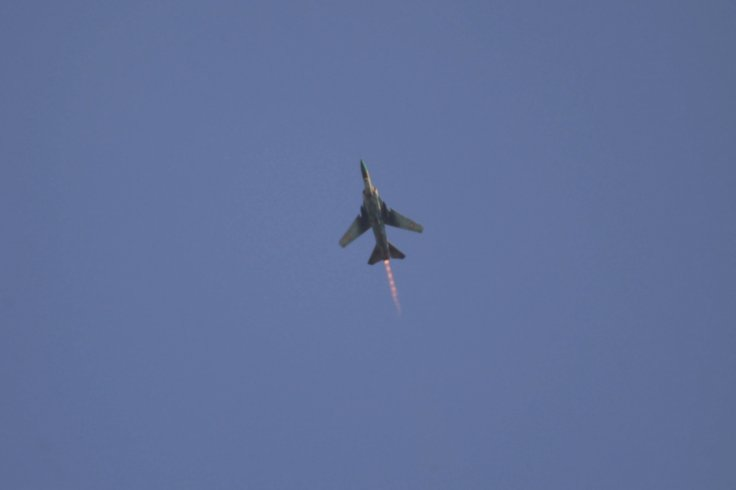 Syria warplane shot down