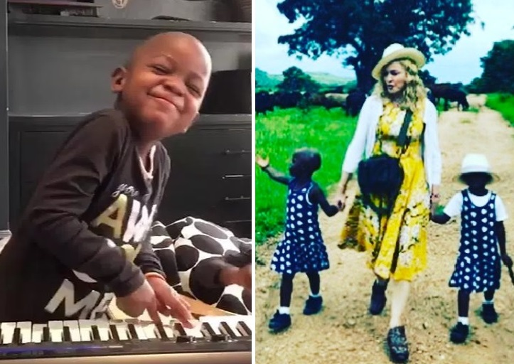 Madonna with Estelle and Estere
