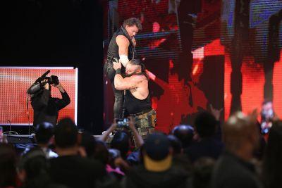 Braun Strowman Chris Jericho
