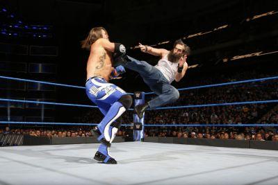AJ Styles Luke Harper