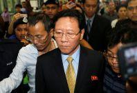North Korean ambassador Kang Chol